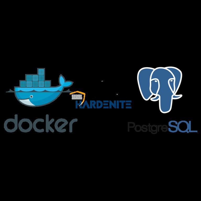 Docker Postgre SQL Hardenite